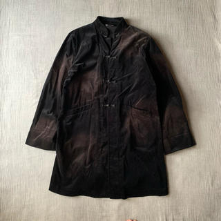 ブラックコムデギャルソン(BLACK COMME des GARCONS)のBLACK COMME des GARCONS ブリーチ加工 チャイナコート(ブルゾン)