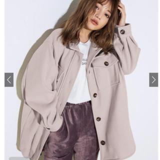グレイル(GRL)のGRL ベルト付き ビックシルエット シャツジャケット(その他)