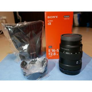 SONY - 新同品 SONY E 16-55mm F2.8G SEL1655G