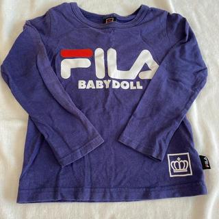 ベビードール(BABYDOLL)のBABYDOLL FILA Tシャツ ロンT 110(Tシャツ/カットソー)