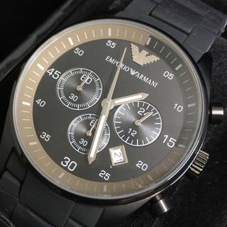 エンポリオアルマーニ(Emporio Armani)の【新品】エンポリオアルマーニARMANI◆高級腕時計◆メンズクロノグラフ(腕時計(アナログ))