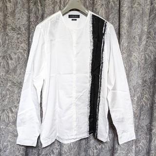 ザラ(ZARA)のZARA MANアートノーカラーシャツ(シャツ)