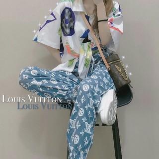 ルイヴィトン(LOUIS VUITTON)のLOUIS VUITTONカジュアルパンッ男女兼用(カジュアルパンツ)