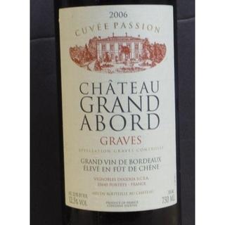 ※未開栓※ 2006 CHATEAU GRAND ABORD GRAVES(ワイン)