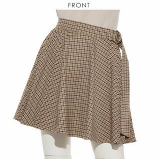 スナイデル(snidel)の未使用新品♡SNIDEL ウールプリーツスカートショーパン(ひざ丈スカート)