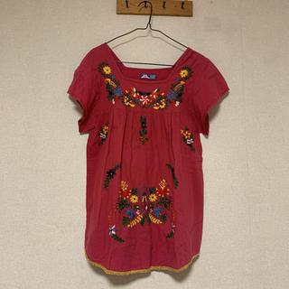 ビームス(BEAMS)のBEAMS HEART ビームスハート 刺繍ブラウス(シャツ/ブラウス(半袖/袖なし))