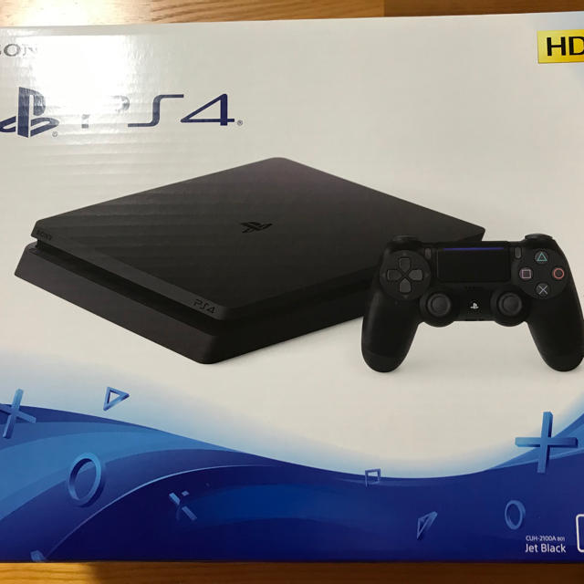 PlayStation4(プレイステーション4)のPS4 本体 CUH-2100A 500GB 付属品全てあり エンタメ/ホビーのゲームソフト/ゲーム機本体(家庭用ゲーム機本体)の商品写真