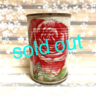 ★★リメイク缶❤️ハンドメイド★薔薇★寄せ植えに♪♪★多肉植物(その他)