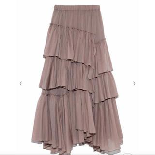 snidel - 未使用新品 スナイデル ティアードスカート
