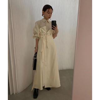 Ameri VINTAGE - MILLEFUILLE SHIRT DRESS