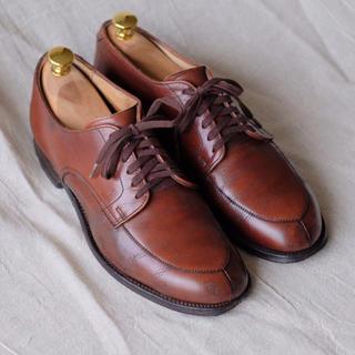 オールデン(Alden)のオールデンAlden カーフ ブラウン Vチップ6D(ドレス/ビジネス)
