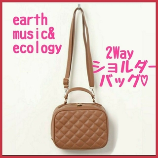 アースミュージックアンドエコロジー(earth music & ecology)のearth music&ecology  2Way バッグ ショルダーバッグ(ハンドバッグ)
