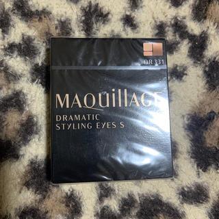 マキアージュ(MAQuillAGE)の資生堂 マキアージュ ドラマティックスタイリングアイズS OR331(4g)(アイシャドウ)