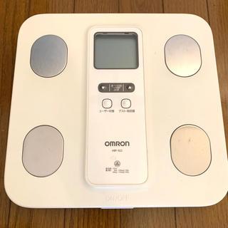 オムロン(OMRON)のOMRON オムロン 体重計 体組成計 HBF-922(体重計/体脂肪計)