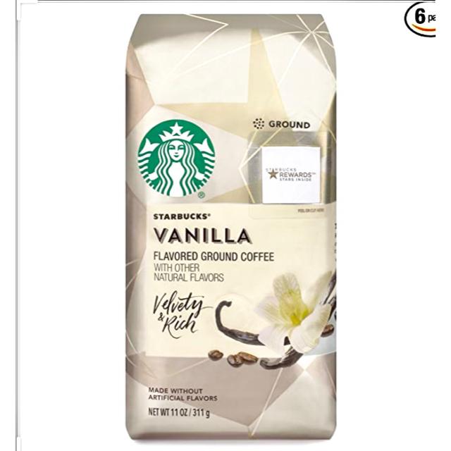 スターバックス❁ バニラ 粉コーヒー 豆 フレーバー 食品/飲料/酒の飲料(コーヒー)の商品写真