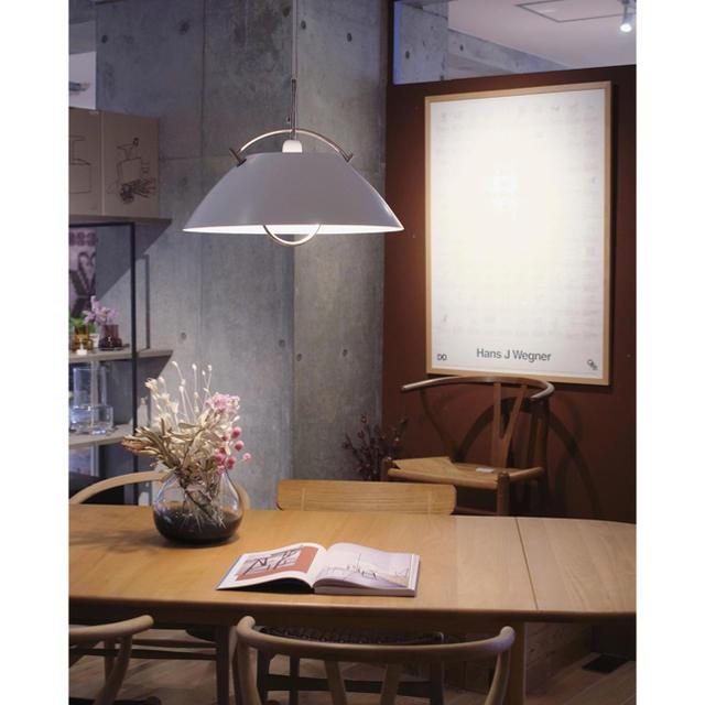 ACTUS(アクタス)の希少 ウェグナー ザ ペンダント PANDUL  ヤマギワ ルイスポールセン インテリア/住まい/日用品のライト/照明/LED(天井照明)の商品写真