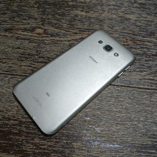ギャラクシー(Galaxy)のau Galaxy A8 SCV32 ゴールド ジャンク(スマートフォン本体)