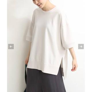 IENA - IENA ワイド スリットTシャツ