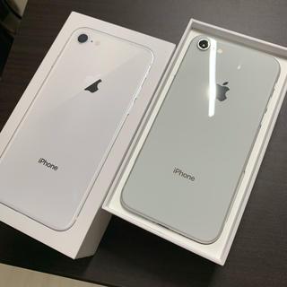 Apple - SIMフリー iPhone8 64GB シルバー