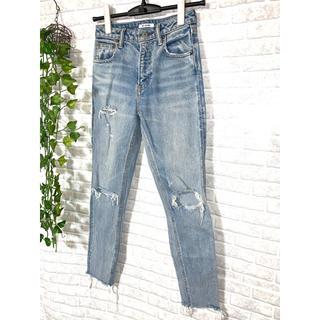 スライ(SLY)のSLY jeans    ダメージ加工 デニムジーンズ 23(デニム/ジーンズ)