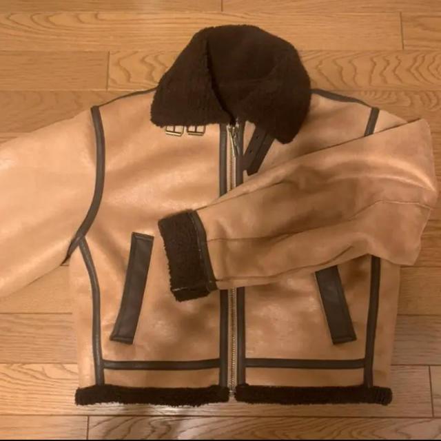 SLY(スライ)のTUCK SLEEVE CROP B-3 JK   レディースのジャケット/アウター(ブルゾン)の商品写真