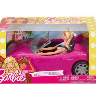 バービー(Barbie)のバービー お出かけ ピンクの車 可愛い barbie car オシャレ(ぬいぐるみ/人形)