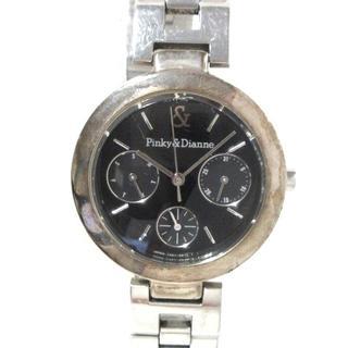 ピンキーアンドダイアン(Pinky&Dianne)のピンキー&ダイアン 腕時計 V33J-6A90 黒(腕時計)