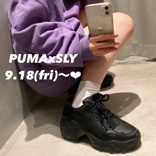 SLY - PUMA x SLY PULSAR WEDGE♡コラボスニーカー♡厚底ウェッジ