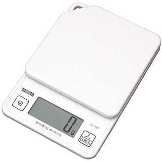タニタ キッチンスケール はかり 料理 デジタル 1kg 1g単位 ホワイト K