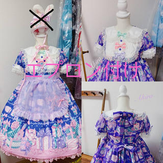 Angelic Pretty - wrapping heart ワンピース&エプロン