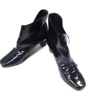 リーガル(REGAL)のリーガル ショートブーツ 23 レディース 黒(ブーツ)
