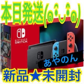 Nintendo Switch - 新品未開封★Switch 任天堂スイッチ本体 ネオンレッド ニンテンドウ