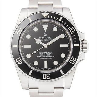 サブマリーナ ノンデイト 新品 メンズ 腕時計 ブラック 40.0mm