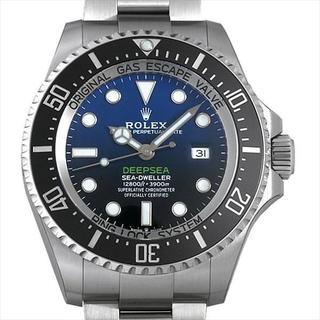 ディープシー D-BLUEダイアル 新品 メンズ 腕時計