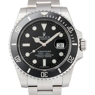 青い夜光 サブマリーナ デイト 新品 メンズ 腕時計 40.0mm