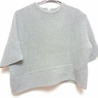 グレースコンチネンタル(GRACE CONTINENTAL)のグレースコンチネンタル 半袖セーター(ニット/セーター)