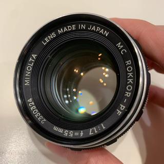 コニカミノルタ(KONICA MINOLTA)の Minolta MC ROKKOR PF 55mm/F1.7(レンズ(単焦点))