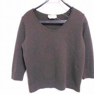 マックスマーラ(Max Mara)のマックスマーラ 七分袖セーター サイズM(ニット/セーター)