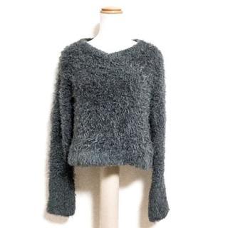 ルシェルブルー(LE CIEL BLEU)のルシェルブルー 長袖セーター サイズ36 S(ニット/セーター)