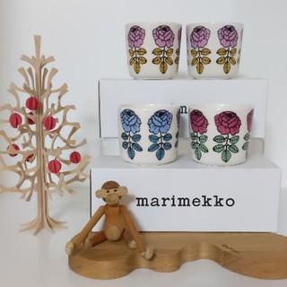 マリメッコ(marimekko)のmarimekko ラテマグ 4個セット(食器)