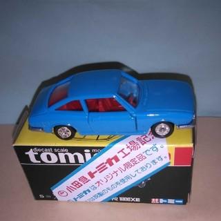 トミカ黒箱いすゞクーペ(日本製)(小田急特注)車体色写真よりも少し薄い水色です