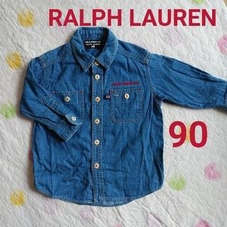 POLO RALPH LAUREN - used 90【 PORO JEANS RALPH LAUREN  デニムシャツ