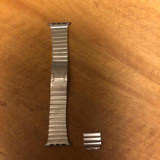 アップルウォッチ(Apple Watch)のapple watch 純正リングブレスレット(金属ベルト)