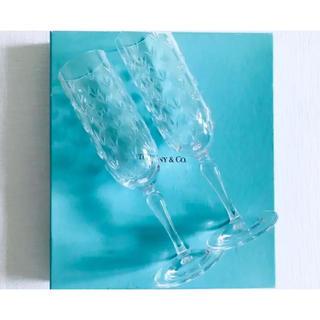 Tiffany & Co. - Tiffany&co ティファニー シャンパングラス ワインペアグラス セット