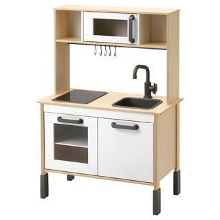 イケア(IKEA)のIKEA イケア DUKTIG  おままごとキッチン&キッチン用品 10点セット(知育玩具)