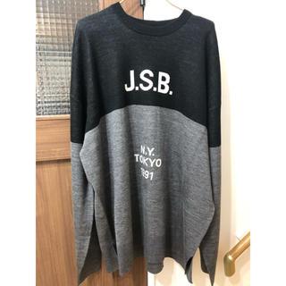 サンダイメジェイソウルブラザーズ(三代目 J Soul Brothers)の★新品★JSB ニット Lサイズ(ニット/セーター)