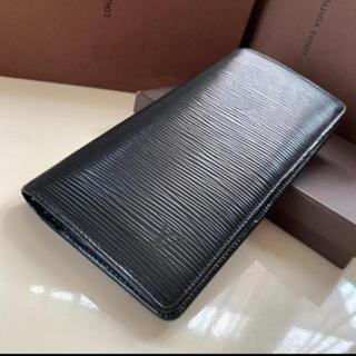 LOUIS VUITTON - 正規品ルイヴィトンブラザ エピブラック 長財布