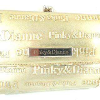 ピンキーアンドダイアン(Pinky&Dianne)のピンキー&ダイアン 3つ折り財布 ゴールド(財布)