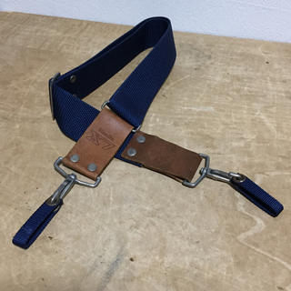 コニカミノルタ(KONICA MINOLTA)のミノルタ X7 フイルムカメラ用 ワイドストラップ ブルー(フィルムカメラ)