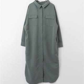 KBF - 新品ロングシャツワンピース